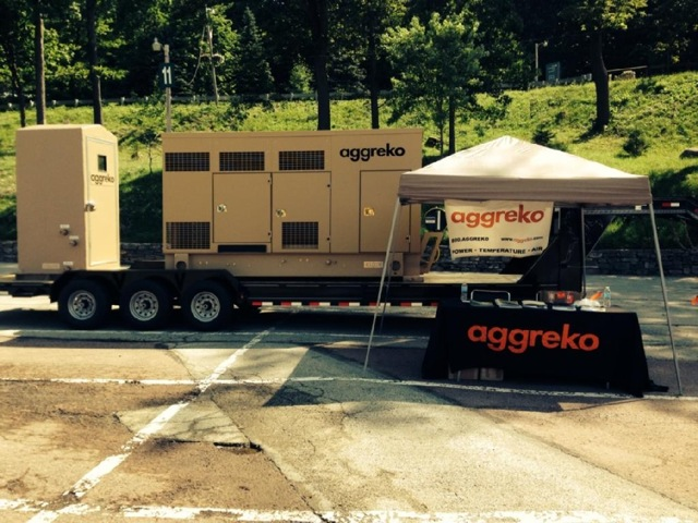 Aggreko PiOGA Pig Roast and Equipment Show 2014