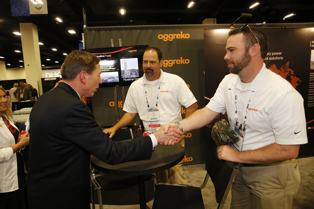 Aggreko Oil & Gas meets General David Petraeus DUG Permian 2014
